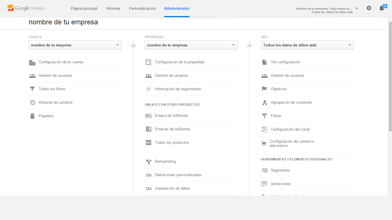 Google Analytics Instalado