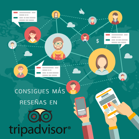 Obtén reviews en TripAdvisor con Social WiFi