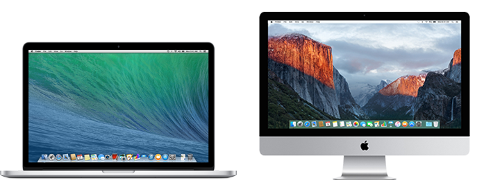 Retina Displays Mac