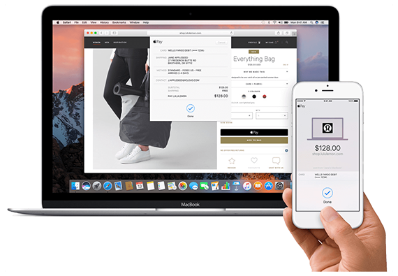 MacOs Sierra Apple Pay